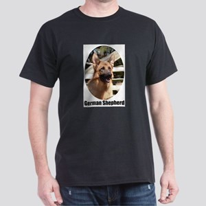 German Shepherd (Color)- Dark T-Shirt
