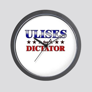 ULISES for dictator Wall Clock