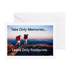 Take Only Memories Greeting Cards (Pk of 20)