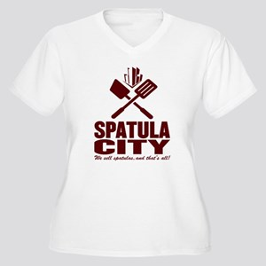 spatula city Women's Plus Size V-Neck T-Shirt