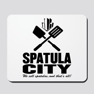 spatula city Mousepad