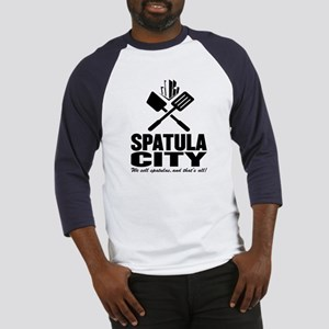 spatula city Baseball Jersey