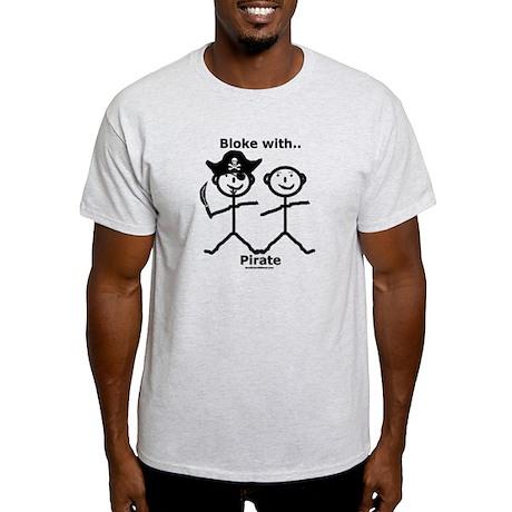Bloke with Pirate Light T-Shirt