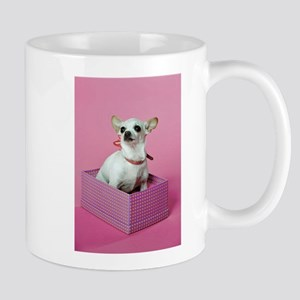 Chihuahua Present Stainless Steel Travel Mugs