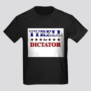 TYRELL for dictator Kids Dark T-Shirt
