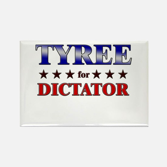 TYREE for dictator Rectangle Magnet