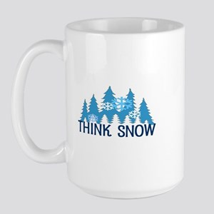 Think Snow Large Mug