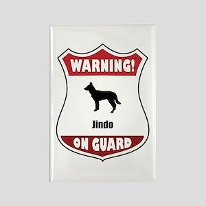 Jindo On Guard Rectangle Magnet