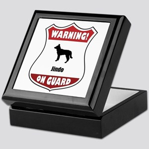 Jindo On Guard Keepsake Box