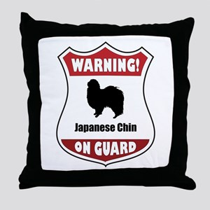 Chin On Guard Throw Pillow
