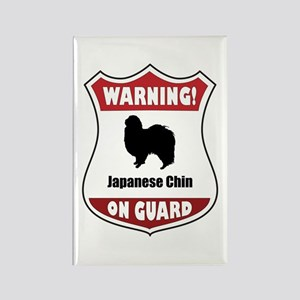 Chin On Guard Rectangle Magnet