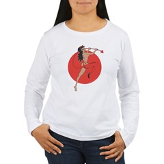 Cool she devil pinup girl T-Shirt