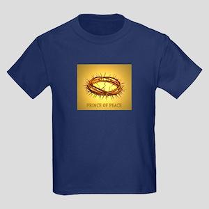 Prince of Peace Crown Kids Dark T-Shirt