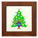 Christmas and Hanukkah Interfaith Framed Tile