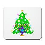 Christmas and Hanukkah Interfaith Mousepad