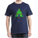 Christmas and Hanukkah Interfaith Dark T-Shirt