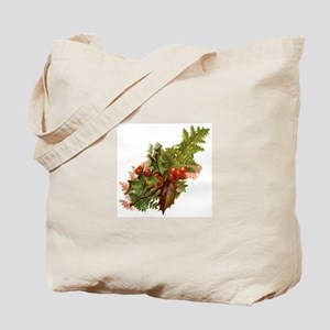 Victorian Holly Tote Bag