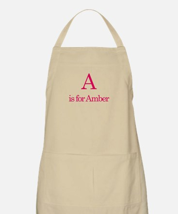 A is for Amber BBQ Apron