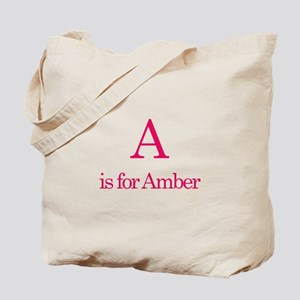 A is for Amber Tote Bag