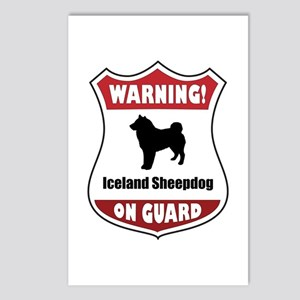 Sheepdog On Guard Postcards (Package of 8)
