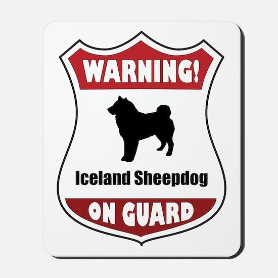 Sheepdog On Guard Mousepad