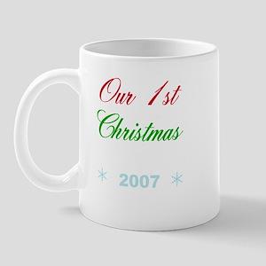 Our 1st Christmas Mug