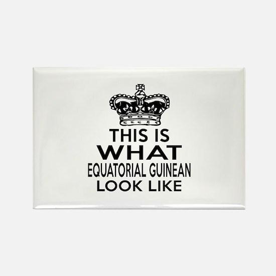 Equatorial Guinean Look Like Desi Rectangle Magnet