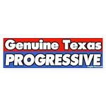 Texas Progressive Bumper Sticker