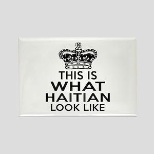 I Am Haitian Rectangle Magnet