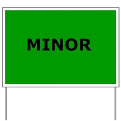 Triage Sign - Minor