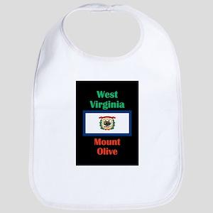 Mount Olive West Virginia Baby Bib