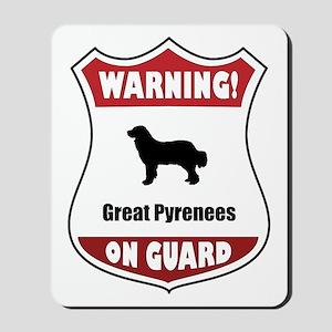 Pyrenees On Guard Mousepad
