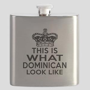 Dominican Look Like Designs Flask