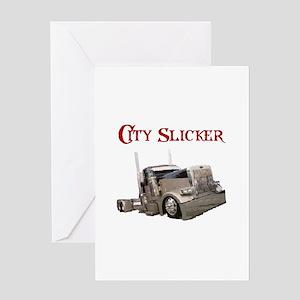 City Slicker Greeting Card