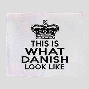 Danish Look Like Designs Throw Blanket
