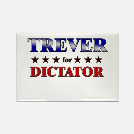 TREVER for dictator Rectangle Magnet