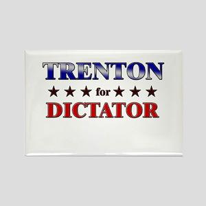 TRENTON for dictator Rectangle Magnet