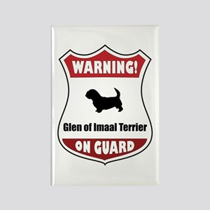Glen On Guard Rectangle Magnet