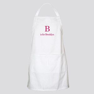 B is for Brooklyn BBQ Apron