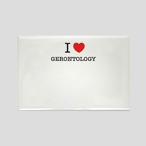 I Love GERONTOLOGY Magnets