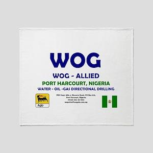 WOG NIGERIA - PORT HARCOURT! Throw Blanket