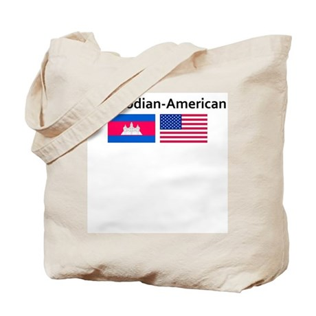 Cambodian American Tote Bag