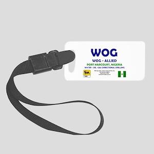 WOG NIGERIA - PORT HARCOURT! Small Luggage Tag