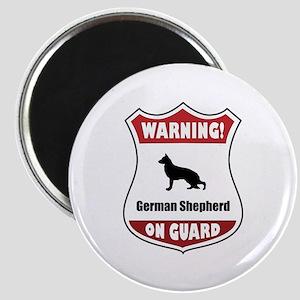 Shepherd On Guard Magnet
