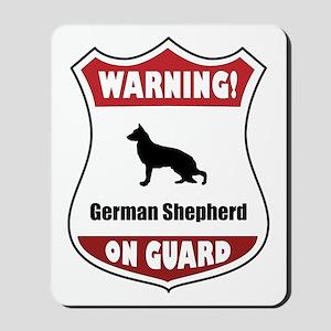 Shepherd On Guard Mousepad