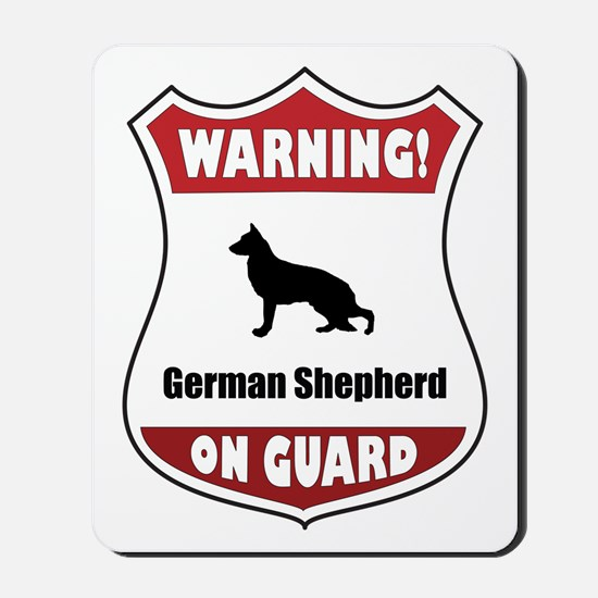 Shepherd On Guard Mousepad