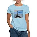 WHALE DANCER Women's Light T-Shirt