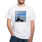 WHALE DANCER White T-Shirt