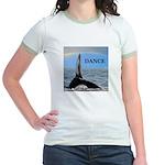 WHALE DANCER Jr. Ringer T-Shirt