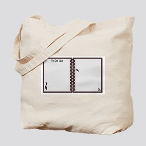 To Do List Notepad Tote Bag